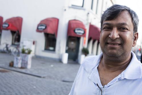 De eigenaar van India's restaurant Handi