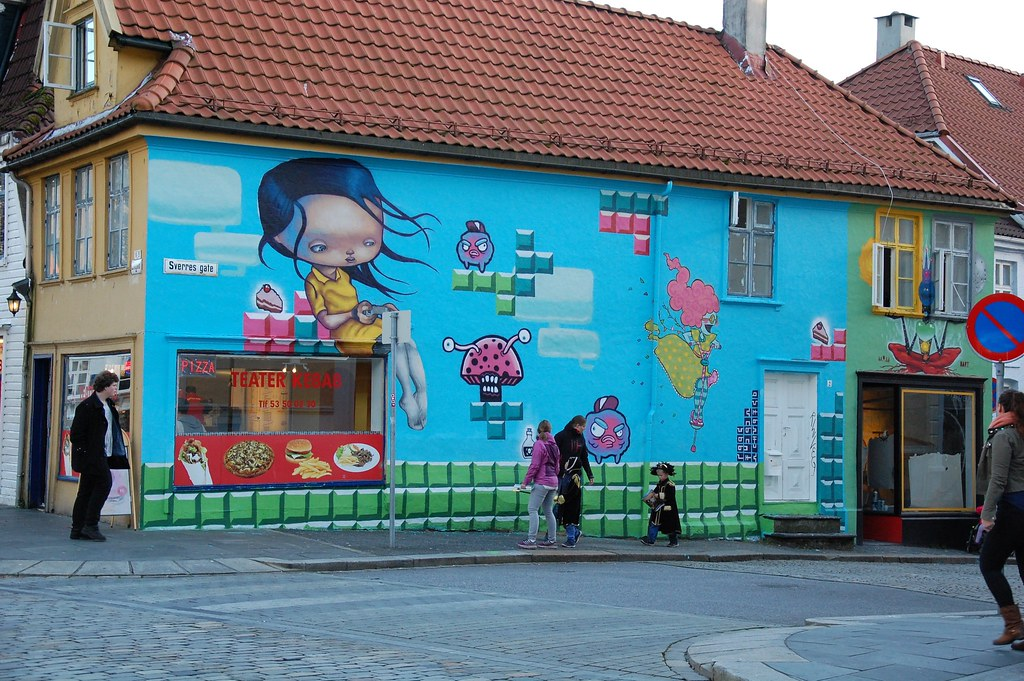 Otro Graffiti en Bergen