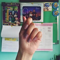 Loving my nail color. 😍🐘 #VSCOcam