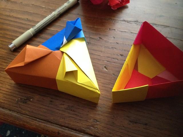 Origami efforts