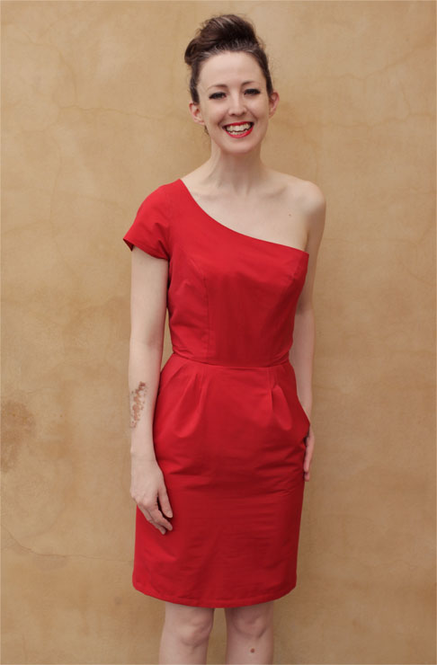 Red Dress #1