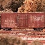 D&RGW 67423 at Joe Faller's Buncher Railcar Service Module set (a pair of 4' NTRAK)