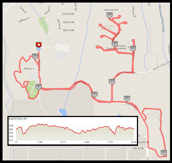 Today's awesome walk, 9.44 miles in 3:10, 20,298 steps, 652ft gain