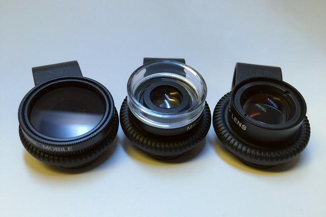 3 Quick Clip  Lenses