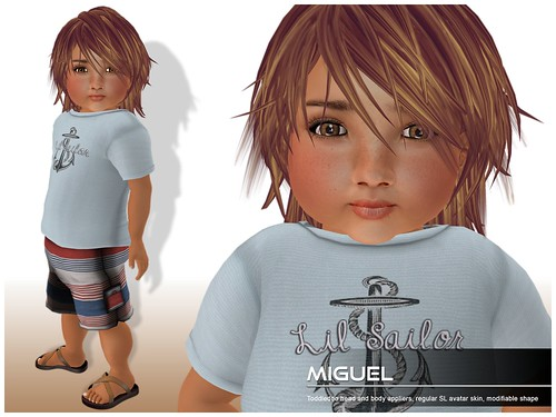Deluxe Body Factory - Miguel skin Toddleedoo baby boy