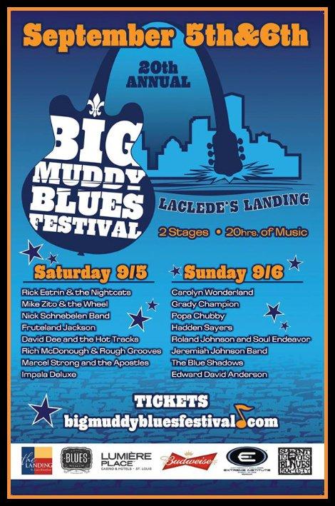Big Muddy Blues Festival 9-5, 9-6-15