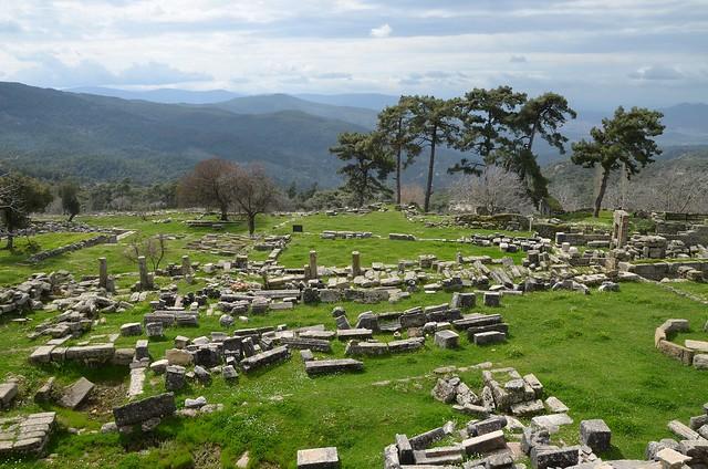 The Sanctuary of Zeus Labraundos, Labraunda, Caria, Turkey