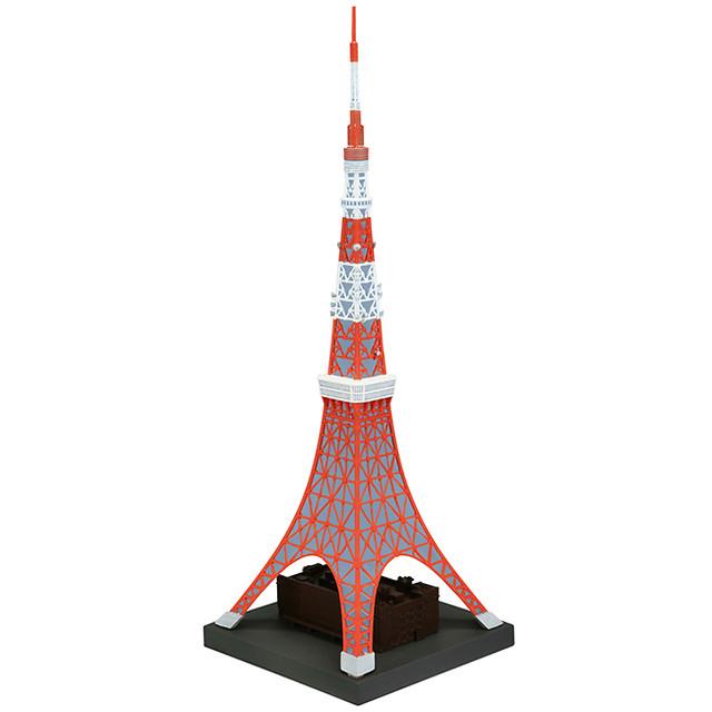 【發售日期變更】極度還原的1/1300比例模型!Sofubi Toy Box Hi-LINE003 東京鐵塔  東京タワー 日本電波塔