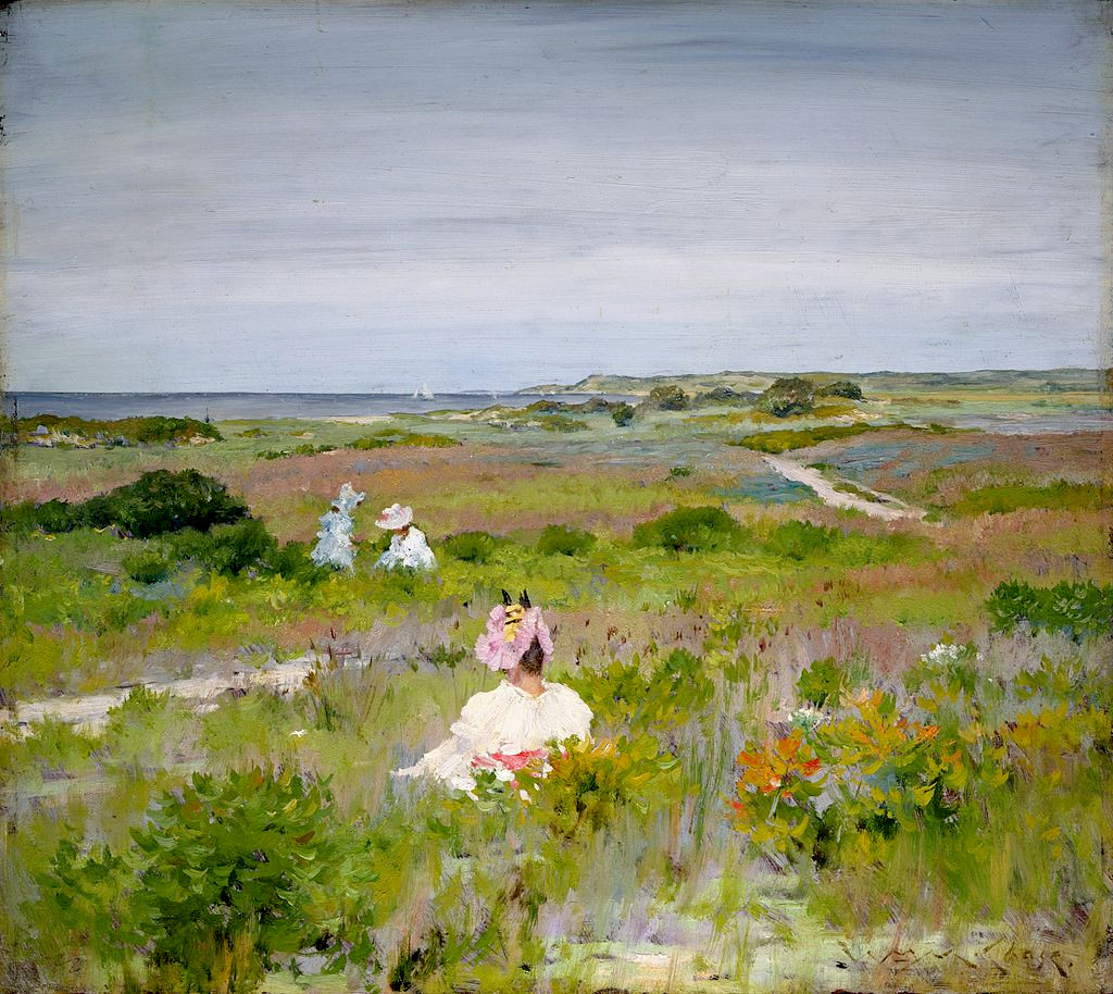 Landscape Shinnecock, Long Island by William Merritt Chase, 1896
