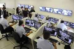 Centro de Monitoramento da Guarda Municipal