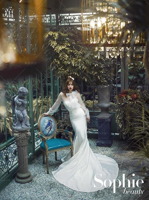 單租禮服,婚紗禮服,手工婚紗,蘇菲美學
