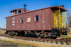 SLSF 1144 | Caboose | Frisco Heritage Center