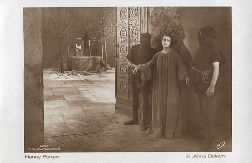 Henny Porten in Anna Boleyn