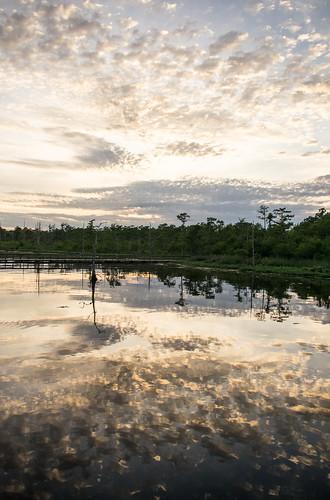 sunset lake nature digital landscape louisiana pentax monroe k5 pentaxart