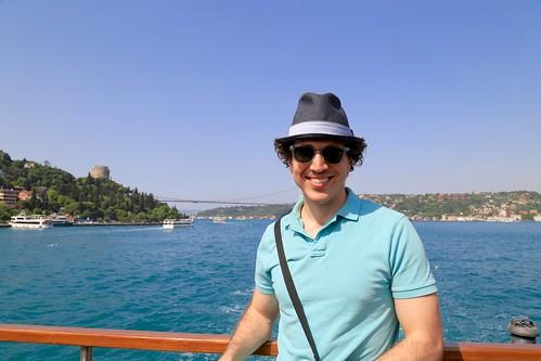 Me on the Bosphorus