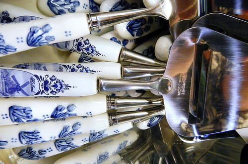 Cheese Slicers in Delft Blue