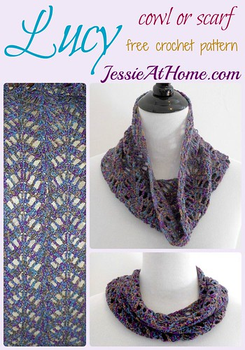 Lucy Chevron Cowl Or Scarf Jessie At Home
