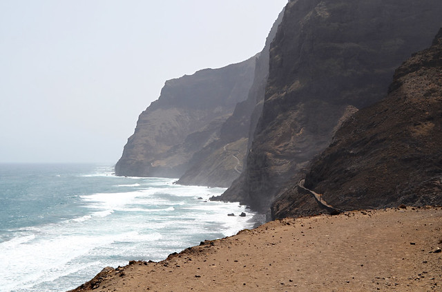 The Way ahead, Cruzinha to Ponta do Sol route, Santo Antao, Cape Verde