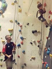Hanging around at King Kong Climbing