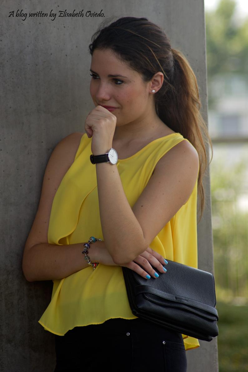 blusa amarilla zara leggings negros heelsandroses (3)