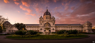 Royal Exhibition Building Sunset