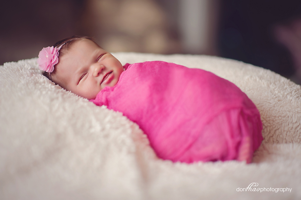 Hudsonville Family Newborn Photographer - Baby Girl