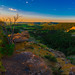Sunrise on Moody Plateau by Jack Lefor