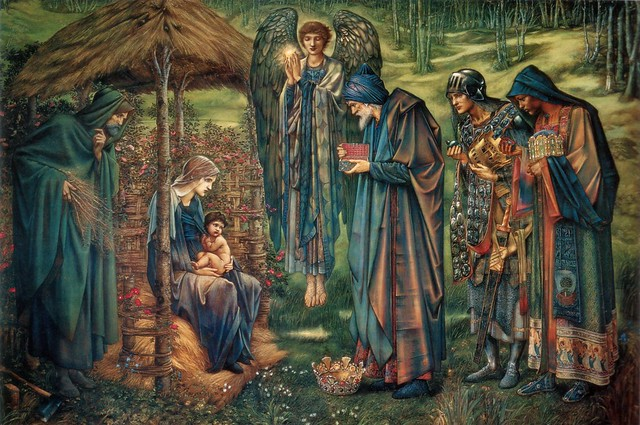 The Star of Bethlehem by Edward Burne Jones, 1890