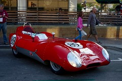 ferrari monza(0.0), race car(1.0), automobile(1.0), maserati 450s(1.0), vehicle(1.0), automotive design(1.0), antique car(1.0), vintage car(1.0), land vehicle(1.0), supercar(1.0), sports car(1.0),
