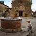 monteriggioni . tuscany . italy