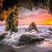Epic Sony A7RII Malibu Beach Fine Art Landscape /Seascape Sunset! Dr. Elliot McGucken Fine Art Sea Caves Landscape and Nature Photography by 45SURF Hero's Odyssey Mythology Landscapes & Godde