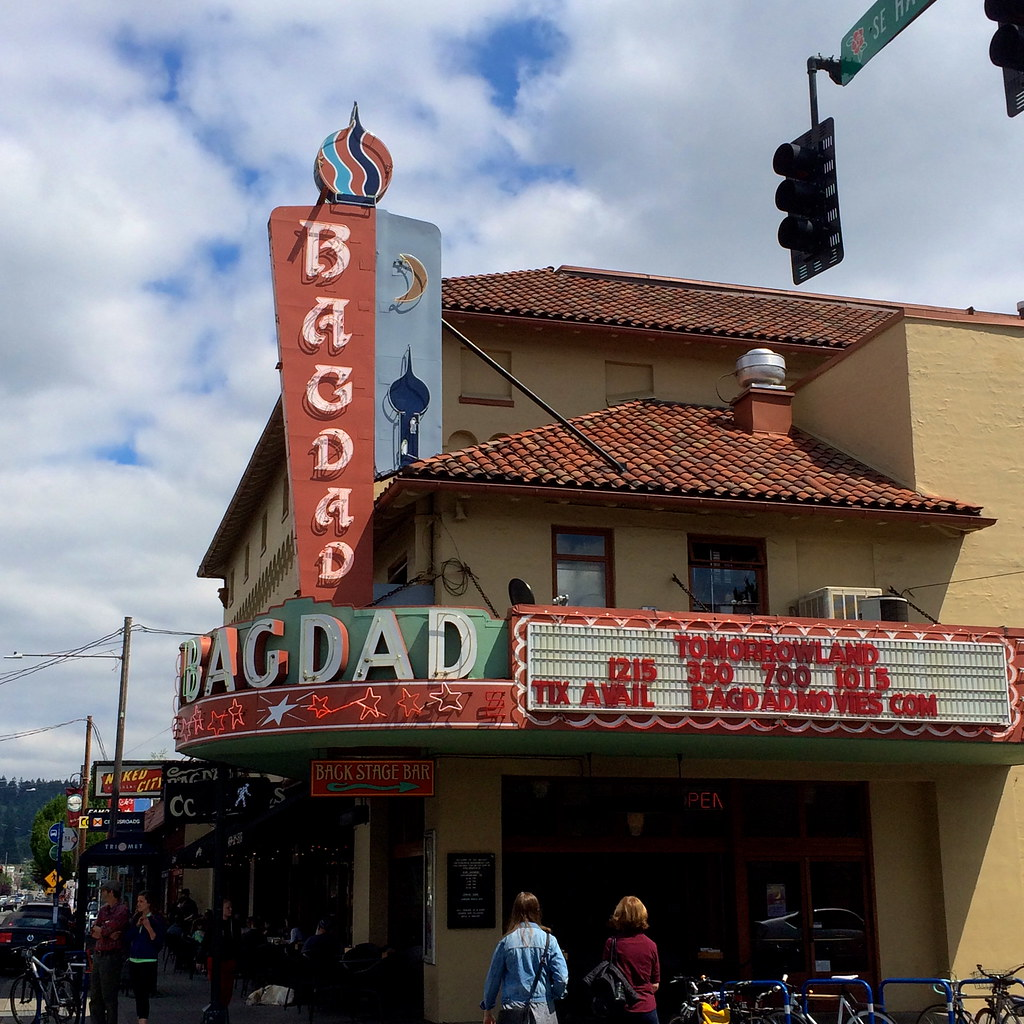Bagdad Theatre - Portland OR Oregon Retro Roadmap