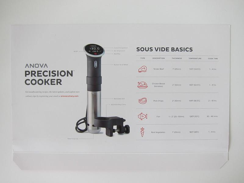 Anova Precision Cooker - Sous Vide Basics