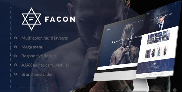 Facon v1.0 – Fashion Responsive Opencart Theme