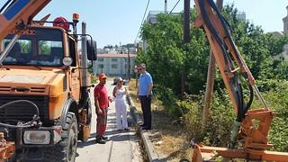 Καθαρισμός των αγροτικών δρόμων και των ιδιόκτητων οικοπέδων από αυτοφυή βλάστηση για την πρόληψη πυρκαγιών.