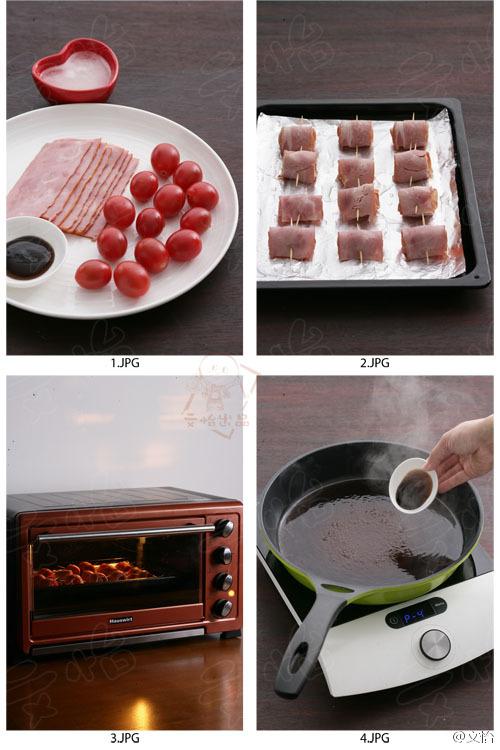 培根番茄串