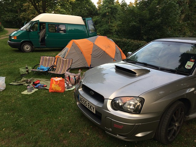 Camp set at Vulkaneifel