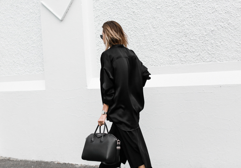 modern legacy, fashion blog, street style, blogger, all black, Bassike, Givenchy Antigona Medium, resort, Haider Ackermann (1 of 1)
