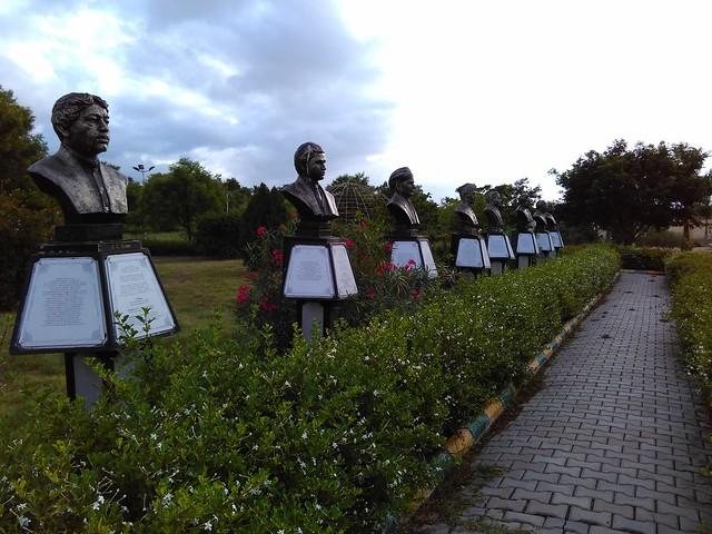 Regional-Science-Center-Coimbatore-Statues
