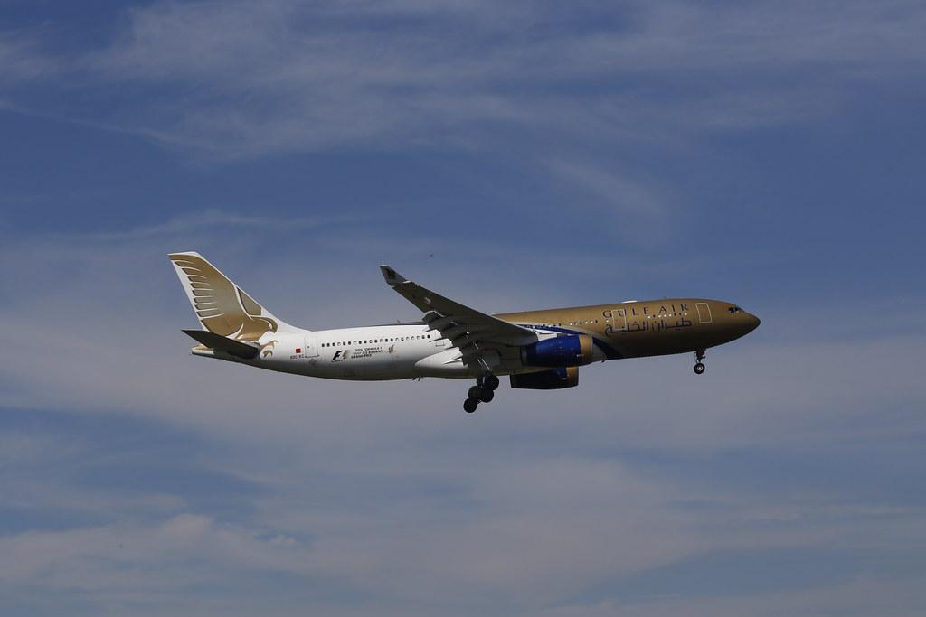 Gulf Air Airbus A330 - (reg. A9C-KC)