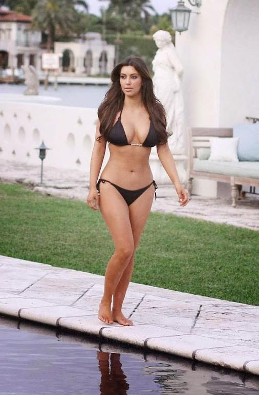 Consider, kim kardashian hot bikini