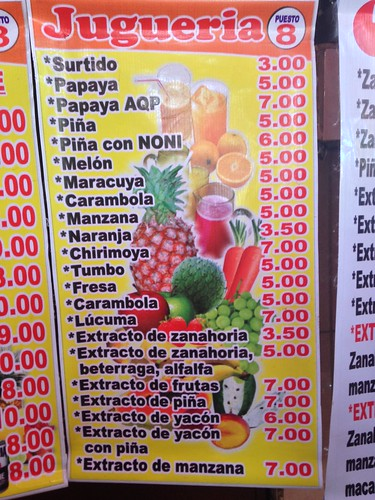 Mercado San Camilo.  Arequipa, Peru.