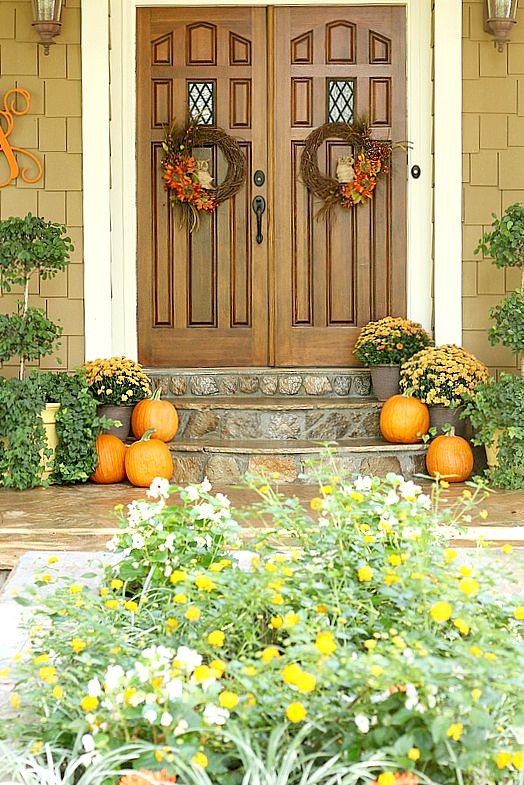 Top This Top That - Fall Front Door