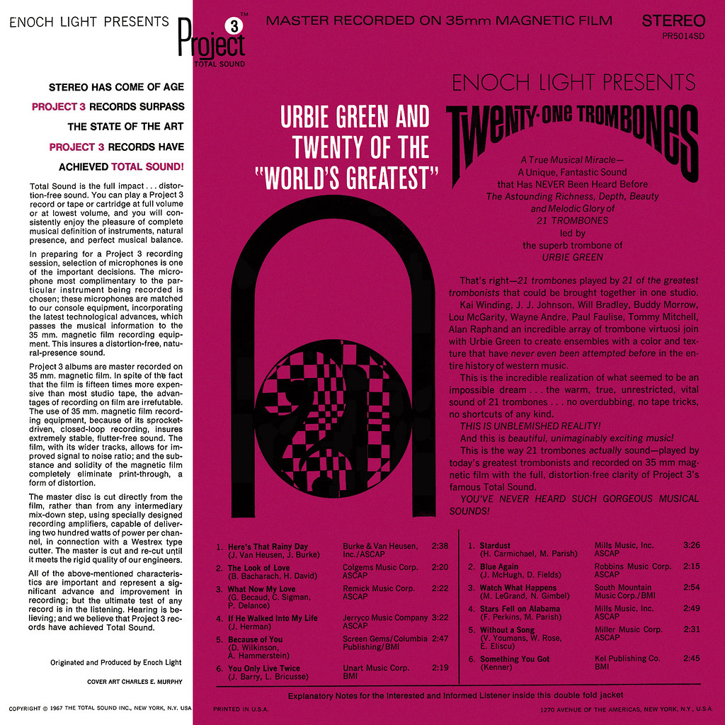 Urbie Green - Twenty-One Trombones