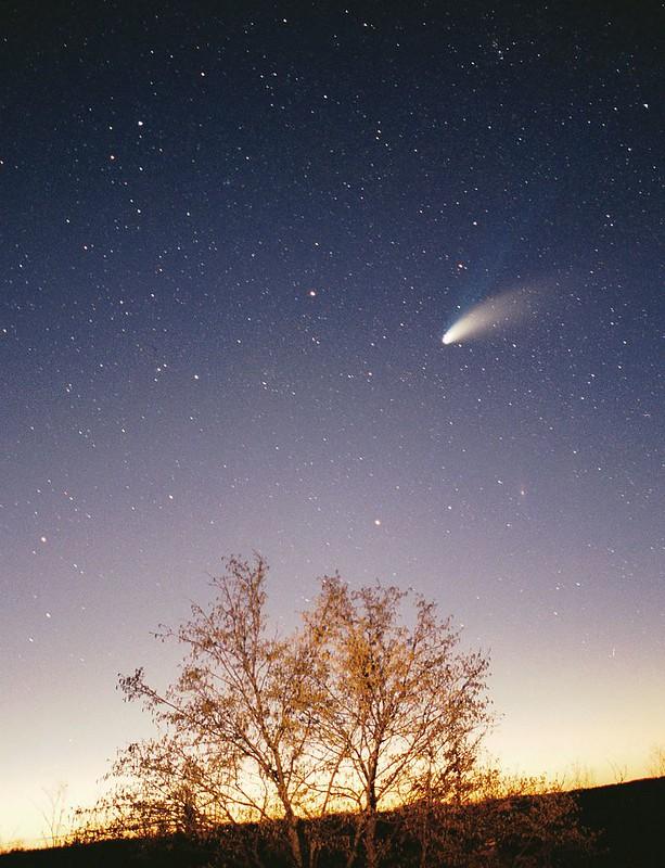 Cometa Hale-Bopp, por Philipp Salzgeber