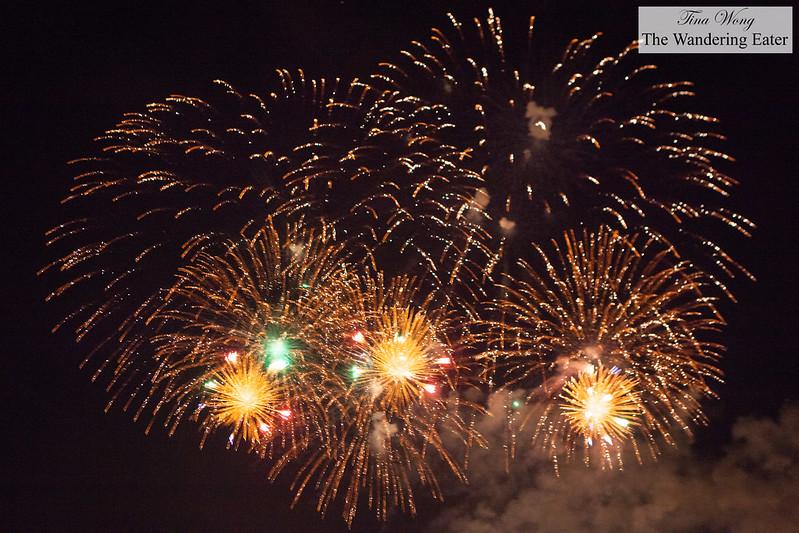 Fireworks - L'International des Feux Loto-Québec at Parc Jean-Drapeau