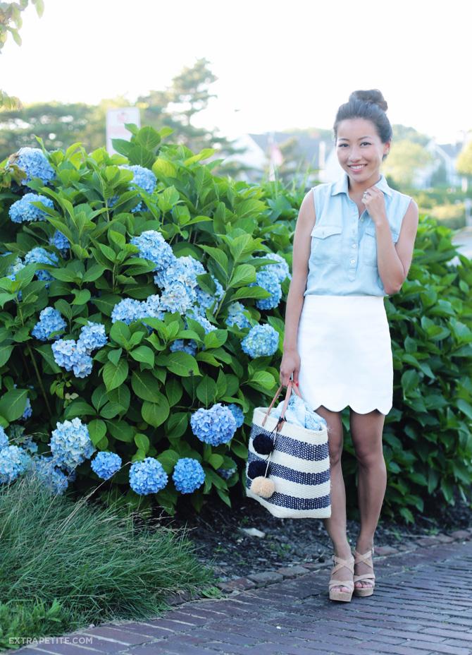 topshotopshop scallop hem miniskirt FSp scallop hem miniskirt