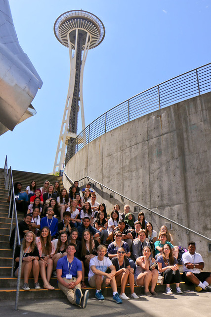 NSLC Visits the Space Needle