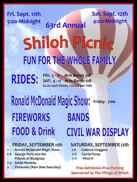 Shiloh Picnic 9-11, 9-12-15