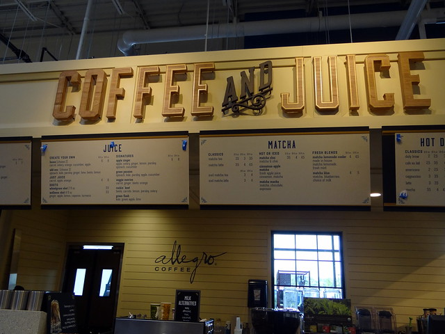 Coffee and Juice